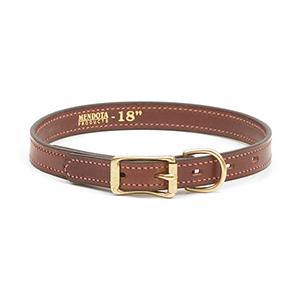 Men Narrow Leather Collar